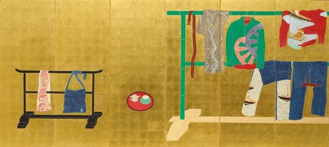 Whose Clothes?, (2005) by YAMAMOTO Tarō