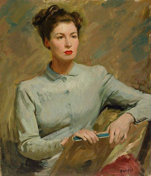 An image of Irish girl by William Dargie