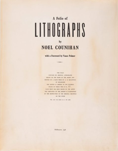 An image of (Title page) by Noel Counihan