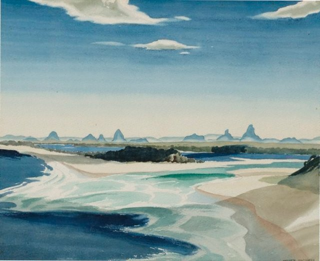 An image of Glass House Mountains, Queensland