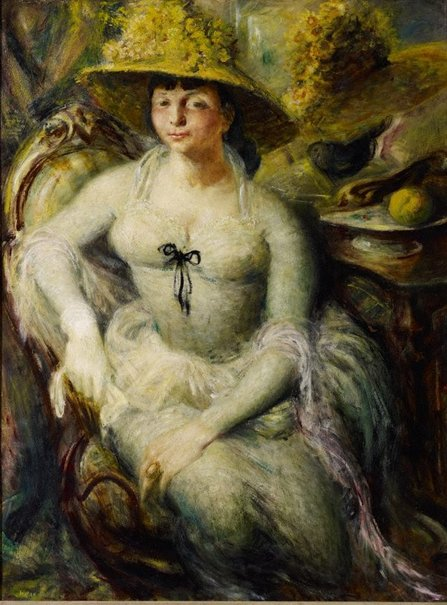 An image of Margaret Olley by William Dobell