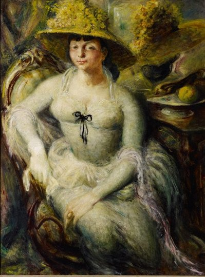 AGNSW collection William Dobell Margaret Olley (1948) 8164