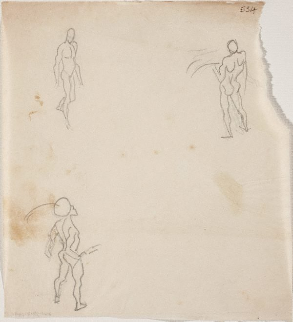 An image of (Figures studies) (Landscapes and natives from New Guinea)