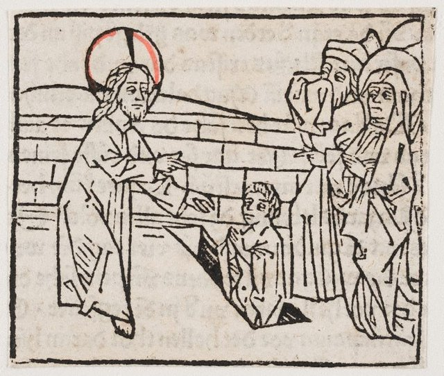An image of The raising of Lazarus