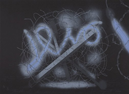 An image of Tumbleweed by James Rosenquist