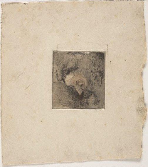 An image of Mon père by Eugene Crick Claux