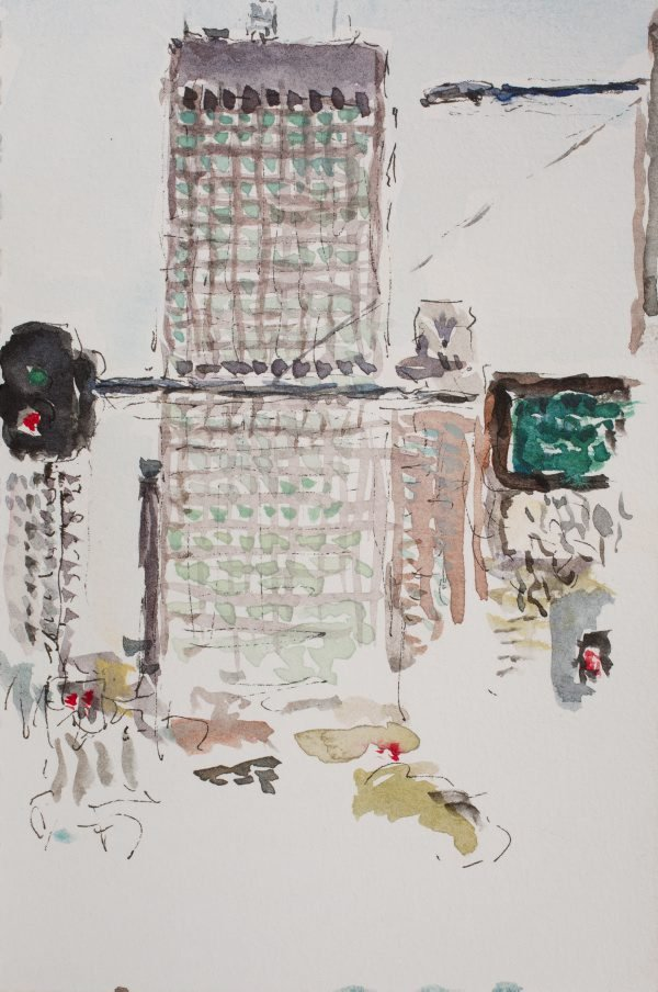 An image of 201 Elizabeth Street, from William Street