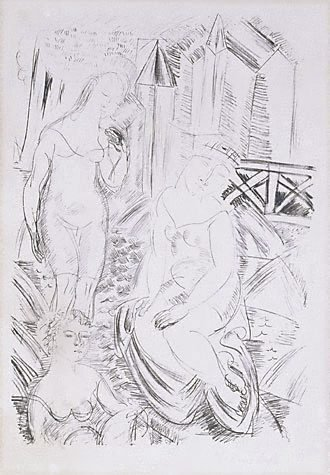 An image of The bathers
