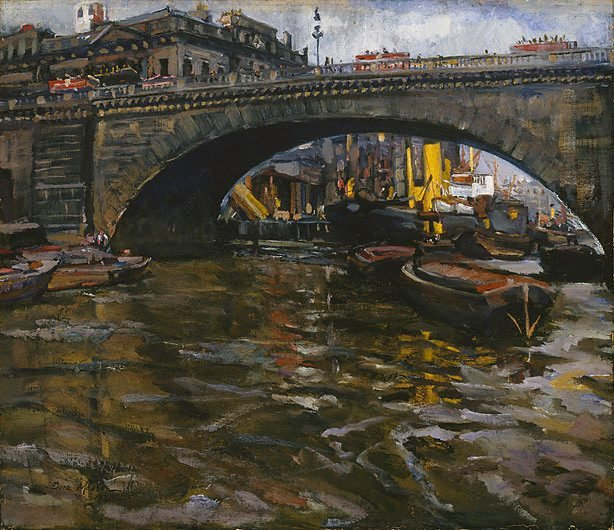 An image of Under London Bridge