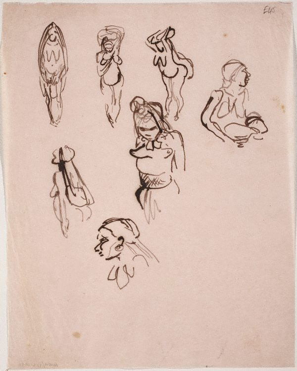 An image of (Female studies) (Landscapes and natives from New Guinea)