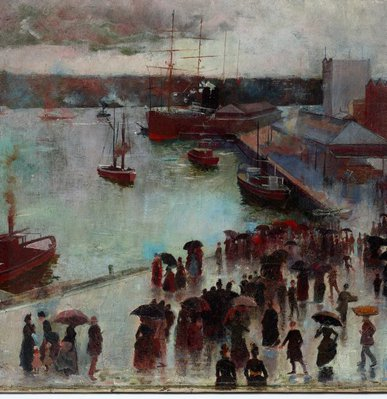 Alternate image of Departure of the Orient - Circular Quay by Charles Conder
