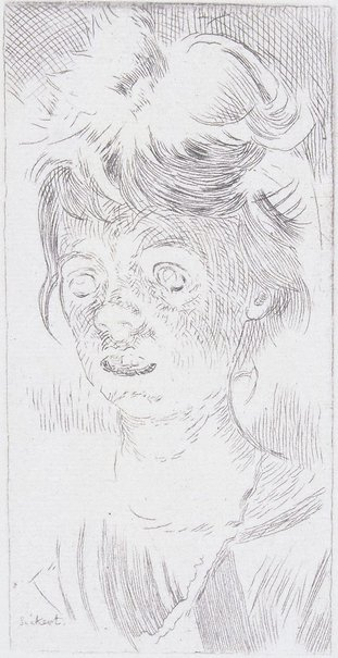 An image of Cicely Hey by Walter Richard Sickert
