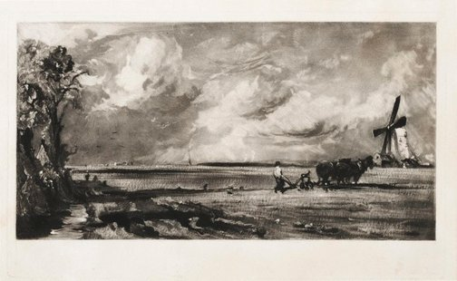 An image of Spring by David Lucas, after John Constable
