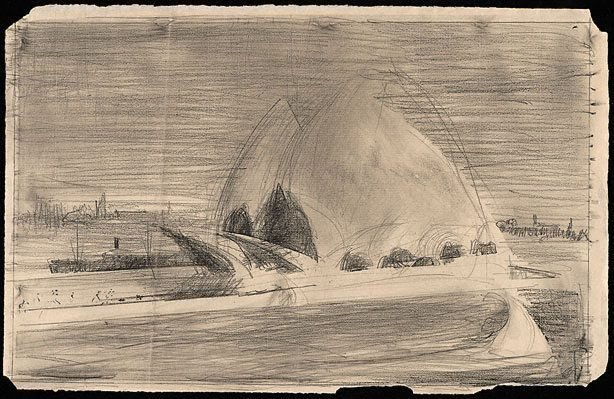 An image of Second drawing for 'Sydney Opera House'