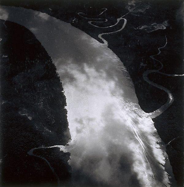 An image of The Burdekin River in flood