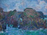 Alternate image of Port-Goulphar, Belle-Île by Claude Monet