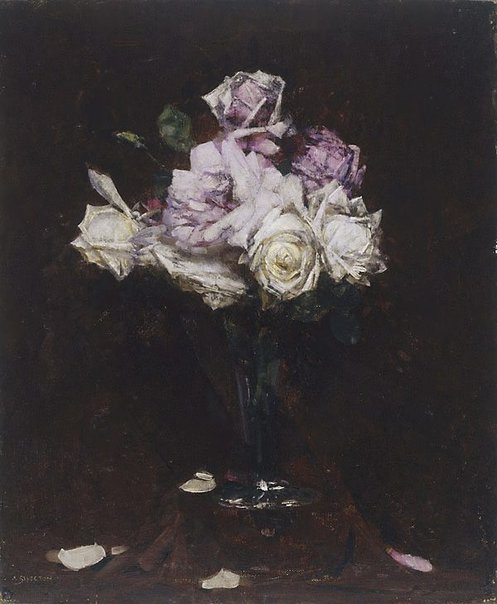 An image of Roses by Arthur Streeton