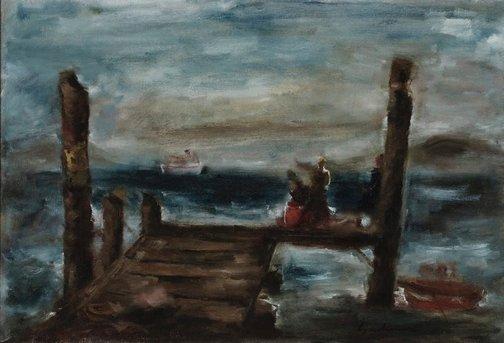 An image of Mainland boat by Francis Lymburner