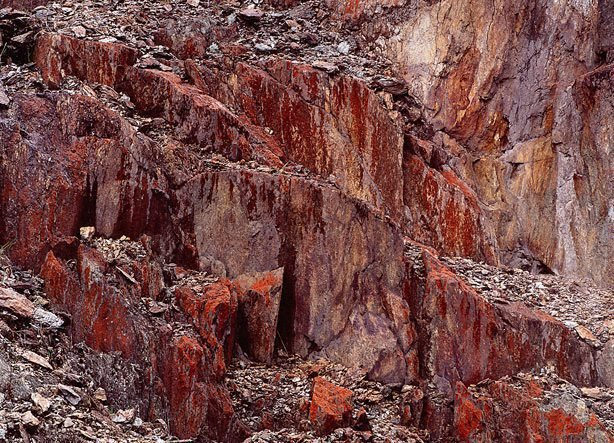 An image of Queenstown rocks No. 2, Tasmania