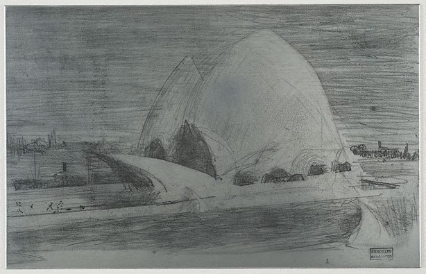 An image of Plate for 'Sydney Opera House'