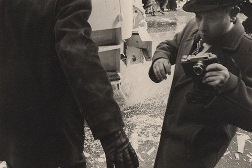 An image of Is this Alfred Eisenstadt? at John Glenn's Parade, Wall Street, New York by Lewis Morley