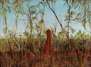 Dry jungle, (1949) by Sidney Nolan