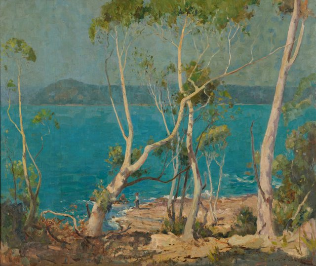 An image of Summer time, Broken Bay