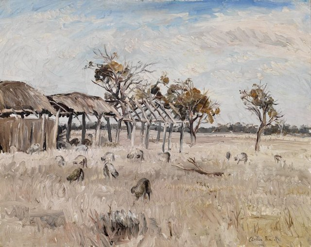 An image of Midday, the Wimmera