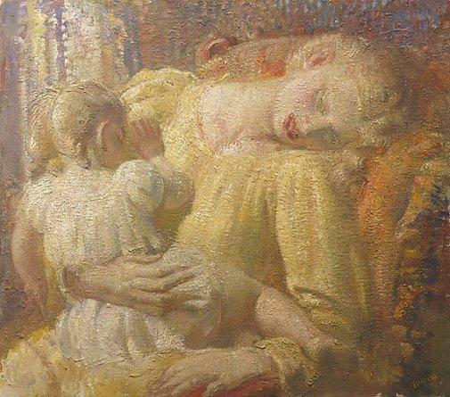 An image of Sleep by Arthur Murch