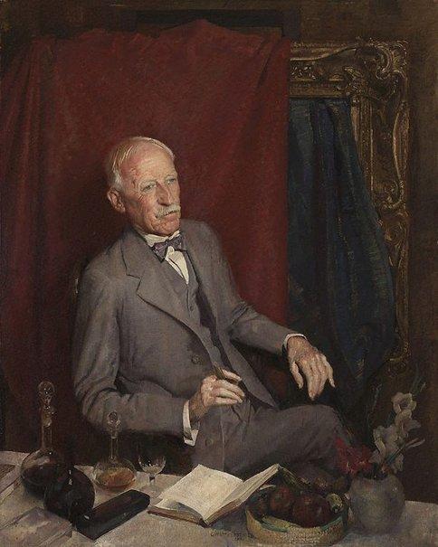 An image of Julian Ashton by George W Lambert