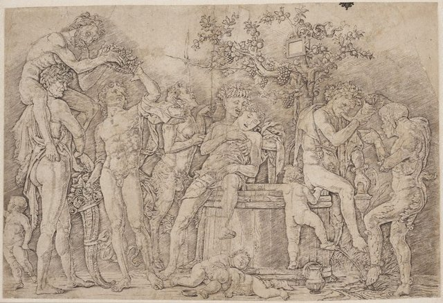 An image of Bacchanal with a wine vat