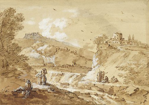 An image of Landscape by Francesco Zuccarelli