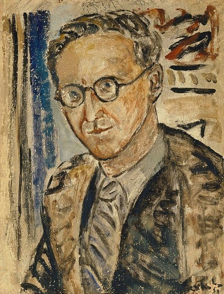 An image of Portrait sketch of Herbert Collingwood by Danila Vassilieff