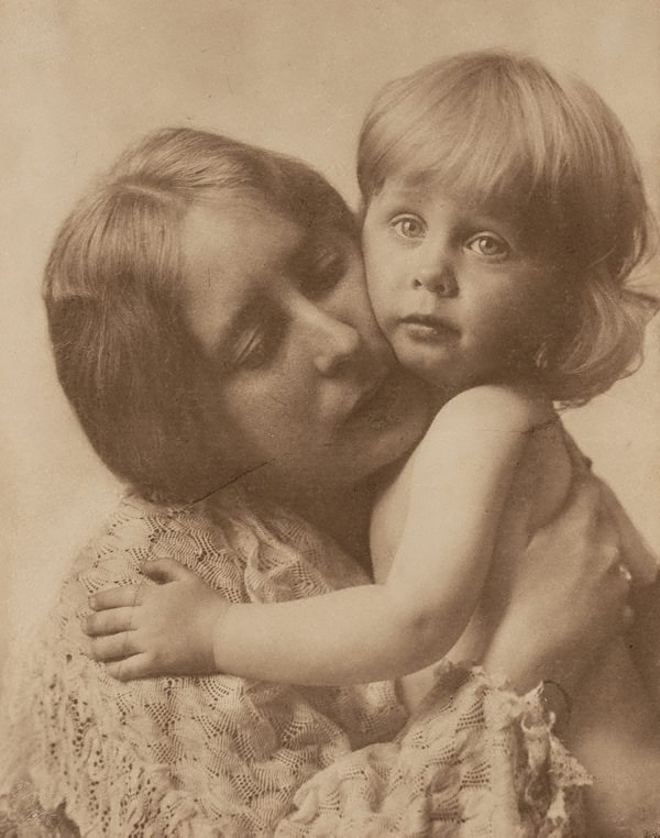 An image of Untitled (mother and child)
