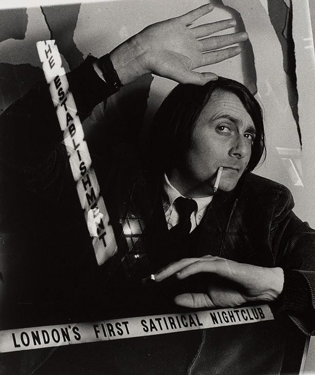 An image of Barry Humphries, London