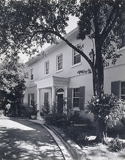 An image of Hobartville, Richmond NSW by Max Dupain