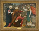 "Alternate image of ""Why seek ye the living among the dead?"" St Luke 24 v5 by Roddam Spencer Stanhope"