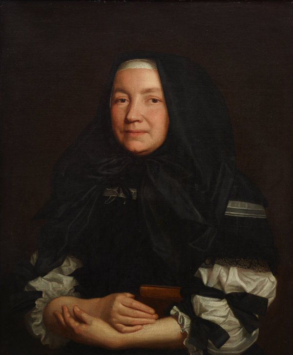 An image of Portrait of an English widow