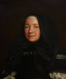 Alternate image of Portrait of an English widow by attrib. Pieter Borsseler