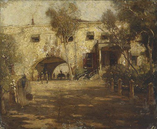 An image of Castle, Capetown by A Henry Fullwood