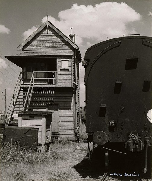 An image of Railway Yard, Leichhardt by Max Dupain