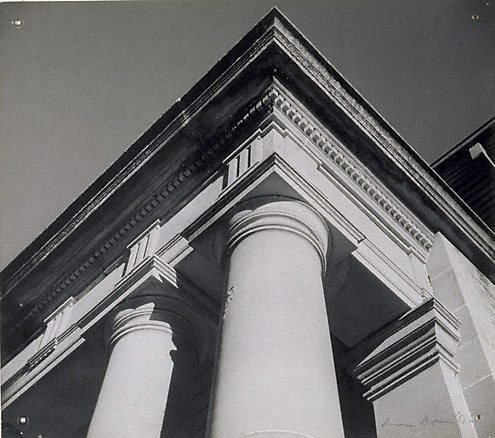 An image of St Luke's Church Liverpool Sydney by Max Dupain