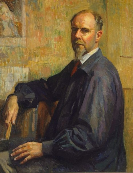 An image of Self portrait by Douglas Dundas