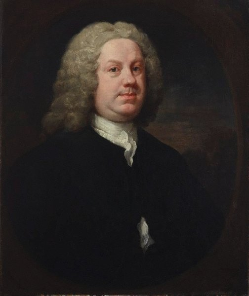 An image of Dr Benjamin Hoadly MD by William Hogarth
