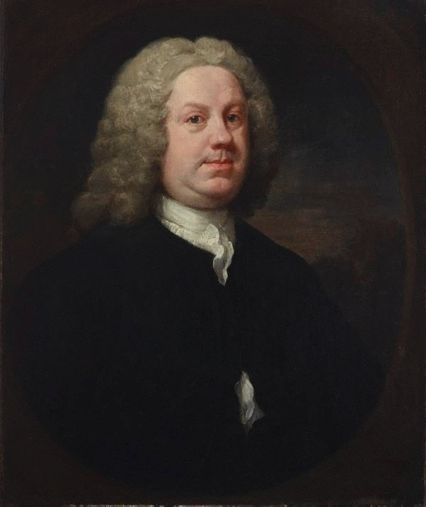 Dr Benjamin Hoadly MD, (early 1740s) by William Hogarth