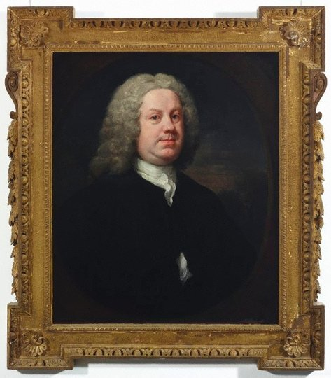 AGNSW collection William Hogarth Dr Benjamin Hoadly MD (early 1740s) 8586