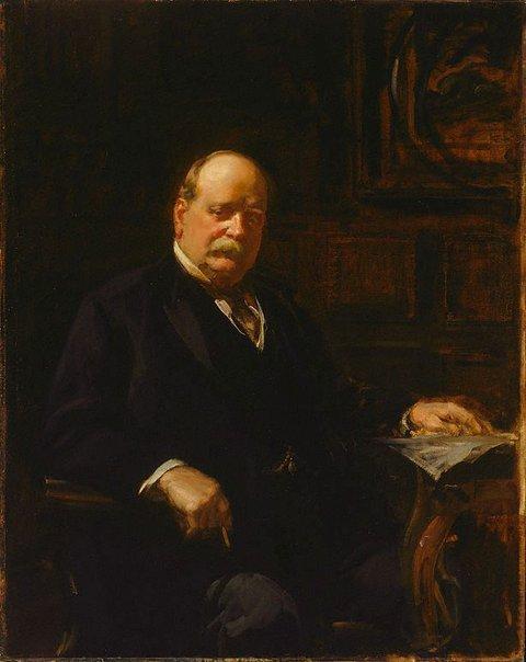 An image of Sir George Reid by John Longstaff