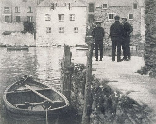 An image of Waiting for the tide, Polpero by George James Morris