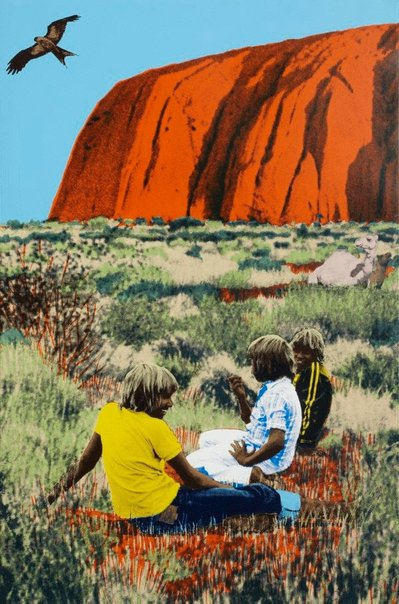 An image of Ayers Rock by Sally Robinson