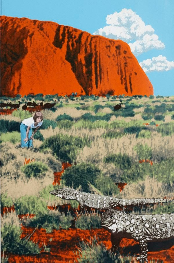An image of Ayers Rock